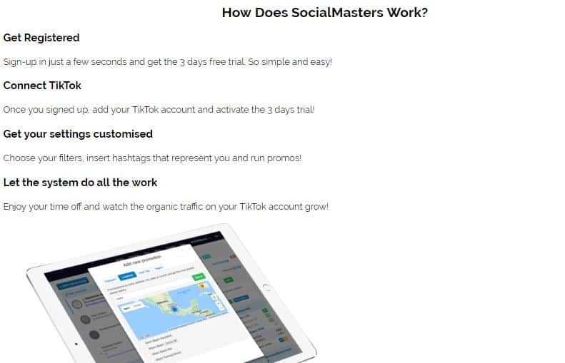 How Does Social Masters Work