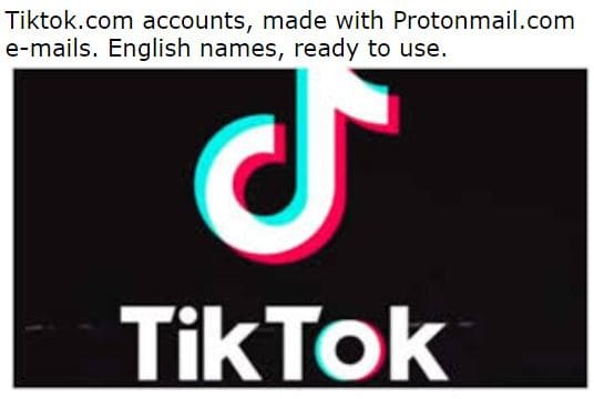 Image of TikTok.com Accounts With Details